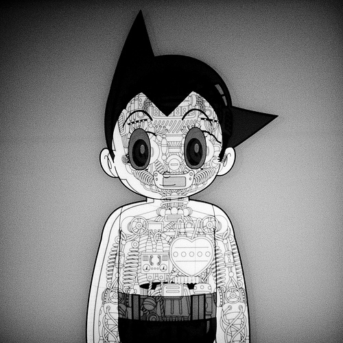 Sam Alden Rebuilds Astro Boy